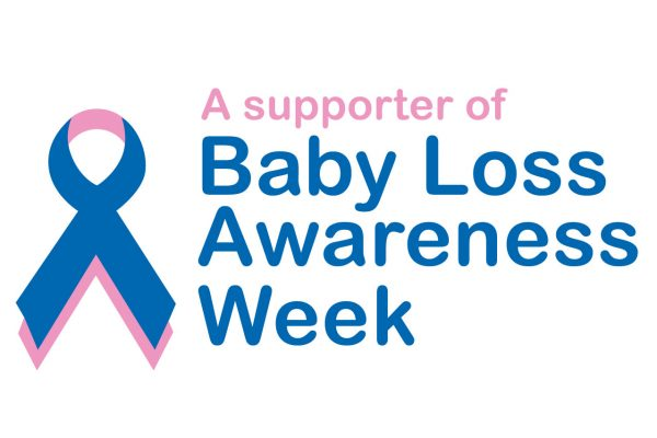 A supporter of Baby Loss Awareness week